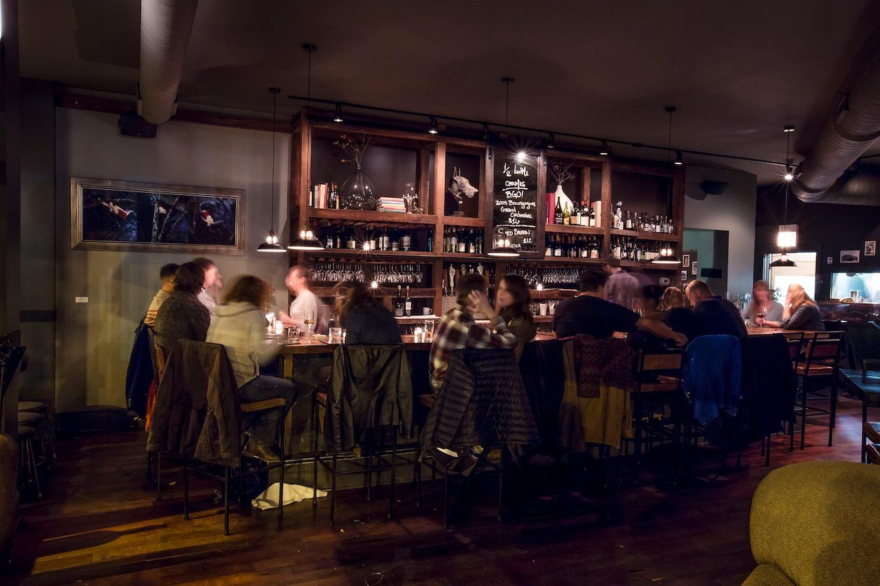 Webster Wine Bar, Chicago
