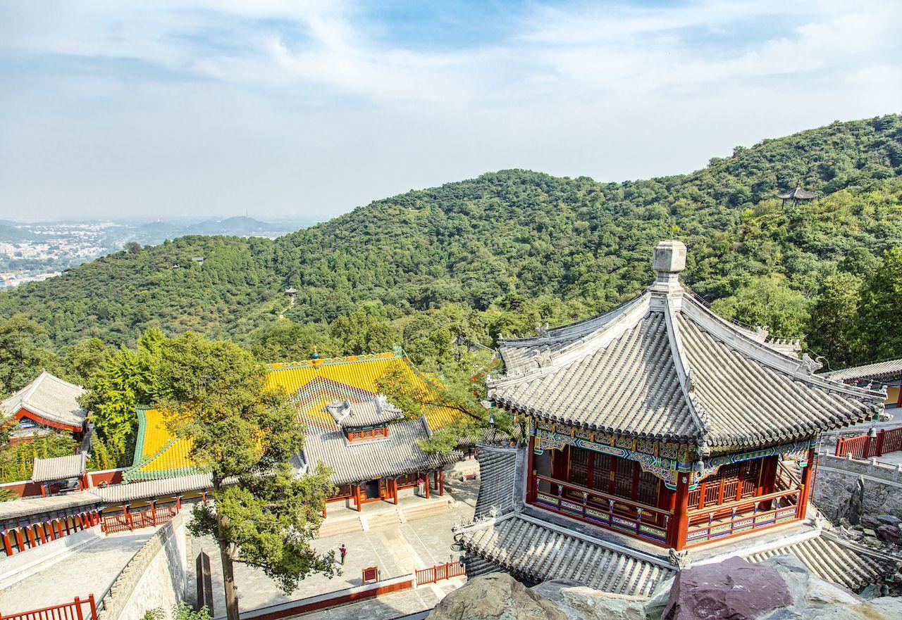 Xiangshan Temple, Xiangshan Park, Beijing