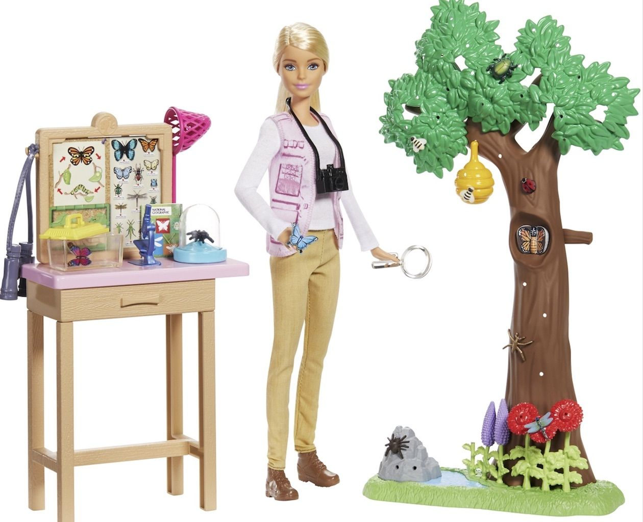 barbie travel-themed doll