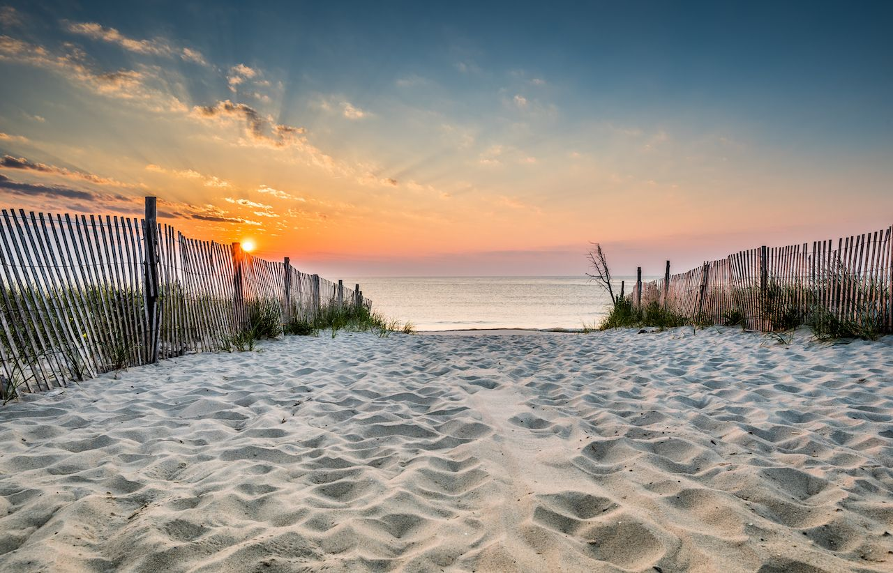 Delaware Beach Sunrise