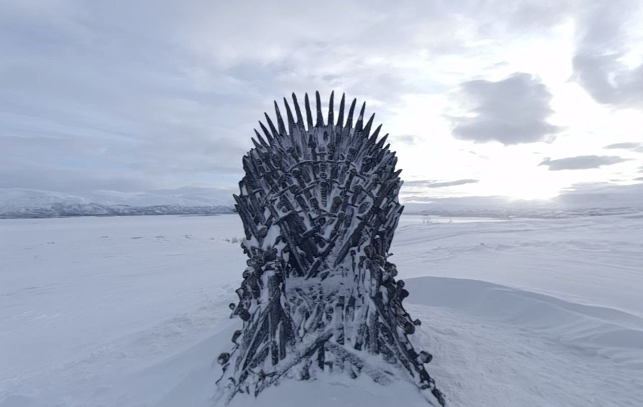 HBO hides six Iron Thrones