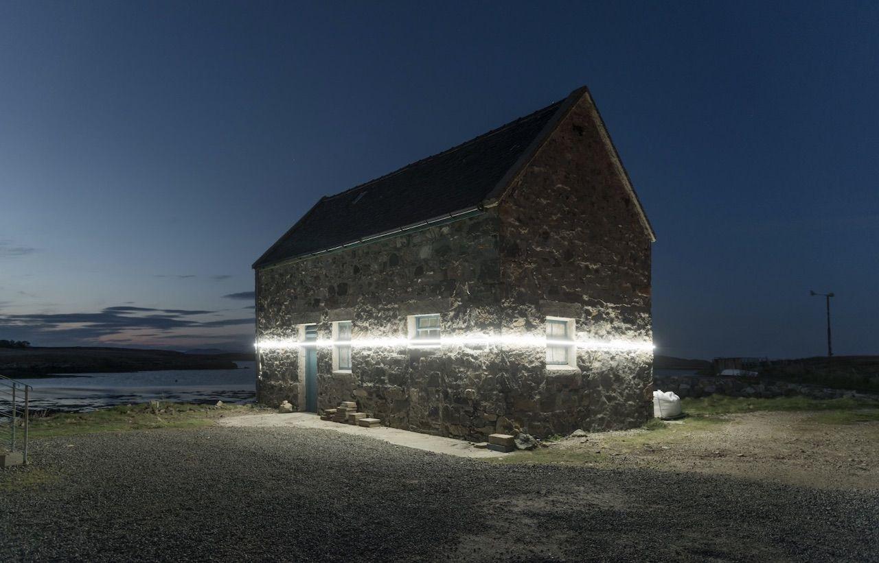 New Scotland light installation