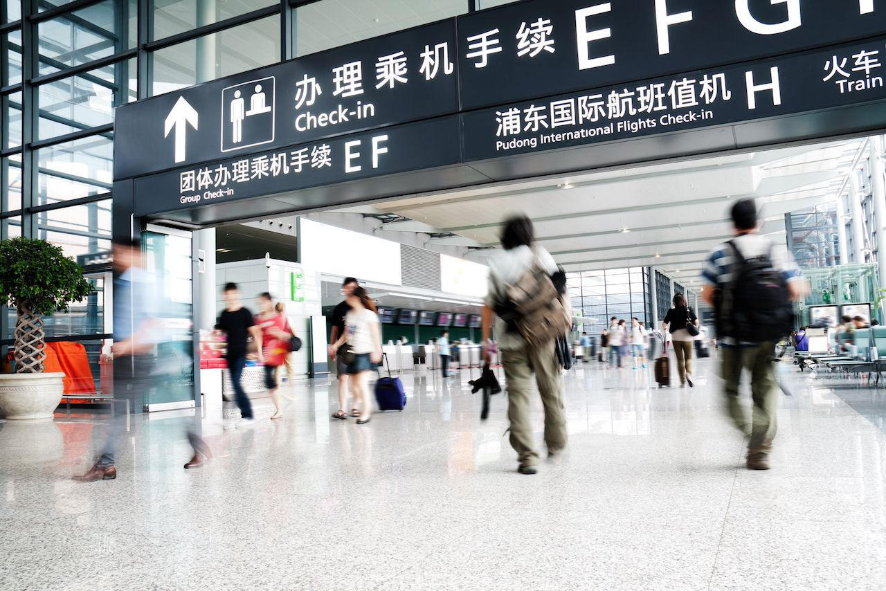 Where to eat at the Shanghai airport