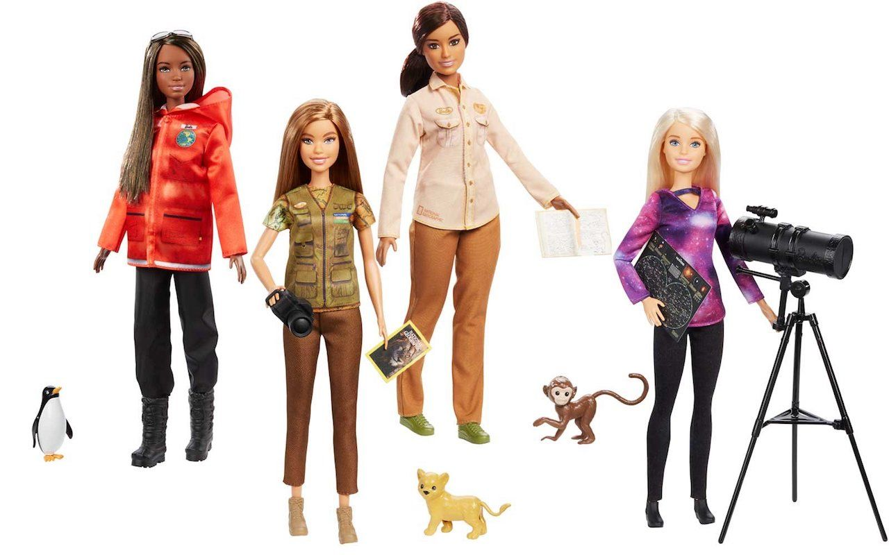 Barbie releasing new travel dolls