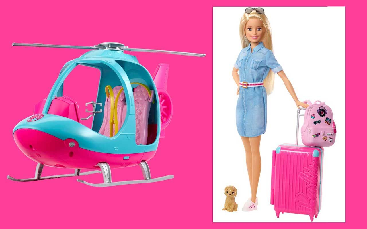 travel-themed barbie