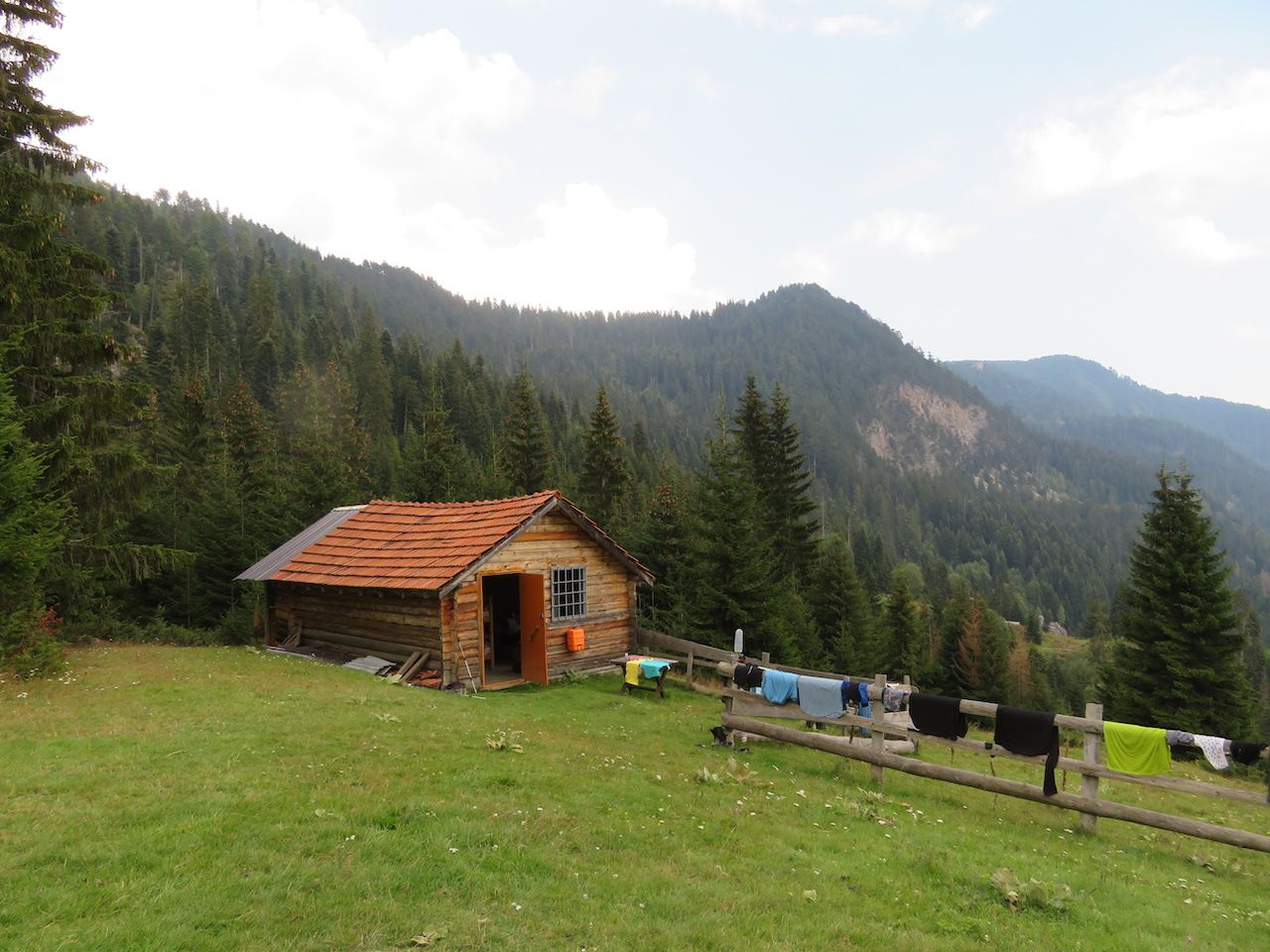 A guest house in Kosovo's Valley of Roshkodol