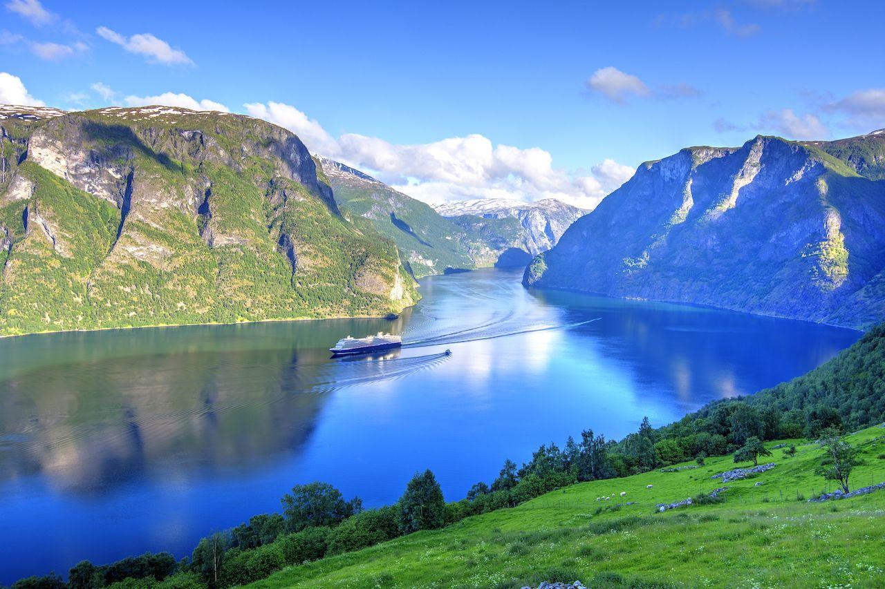 Aurlandsfjord, The West Norwegian Fjords, Norway