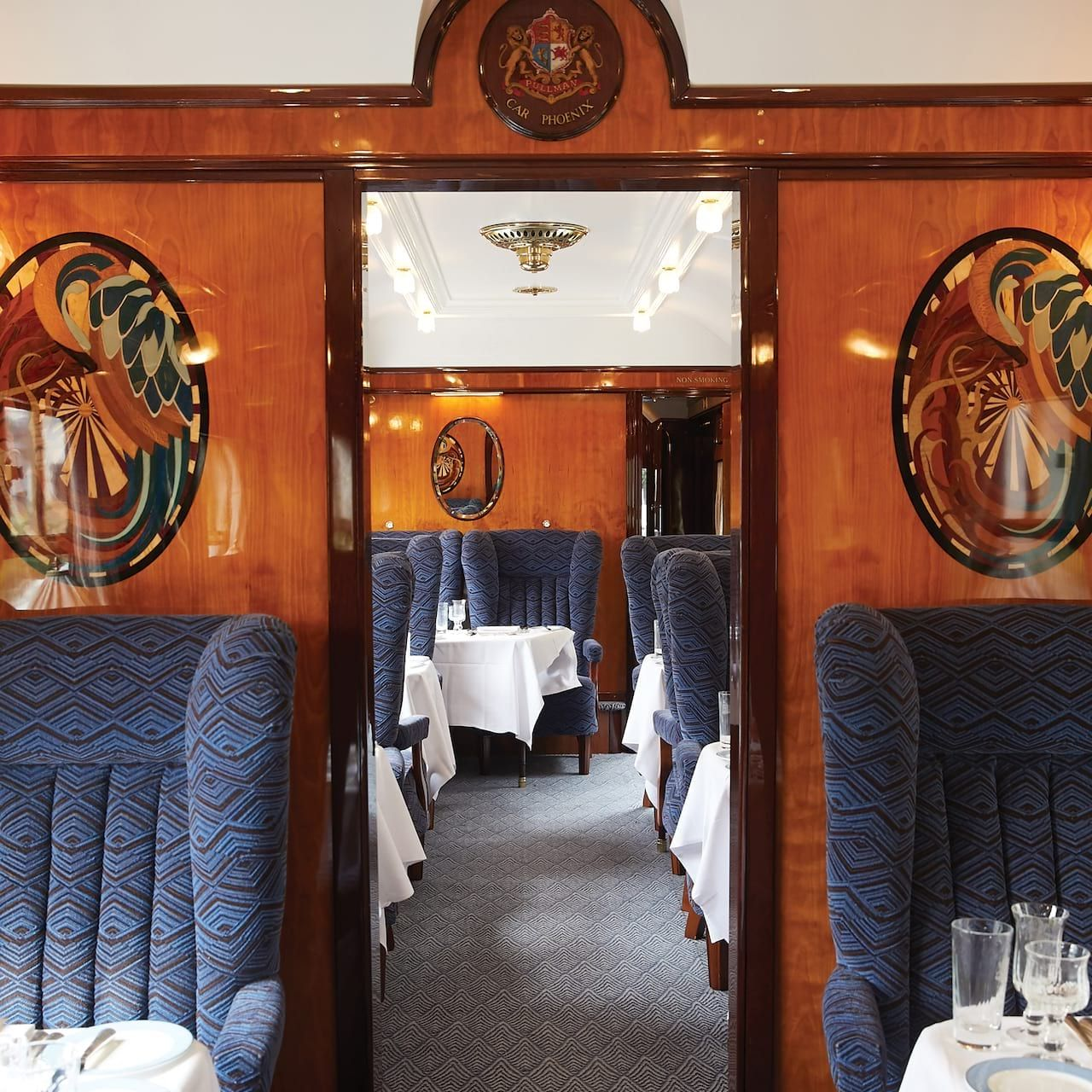 British Pullman train car