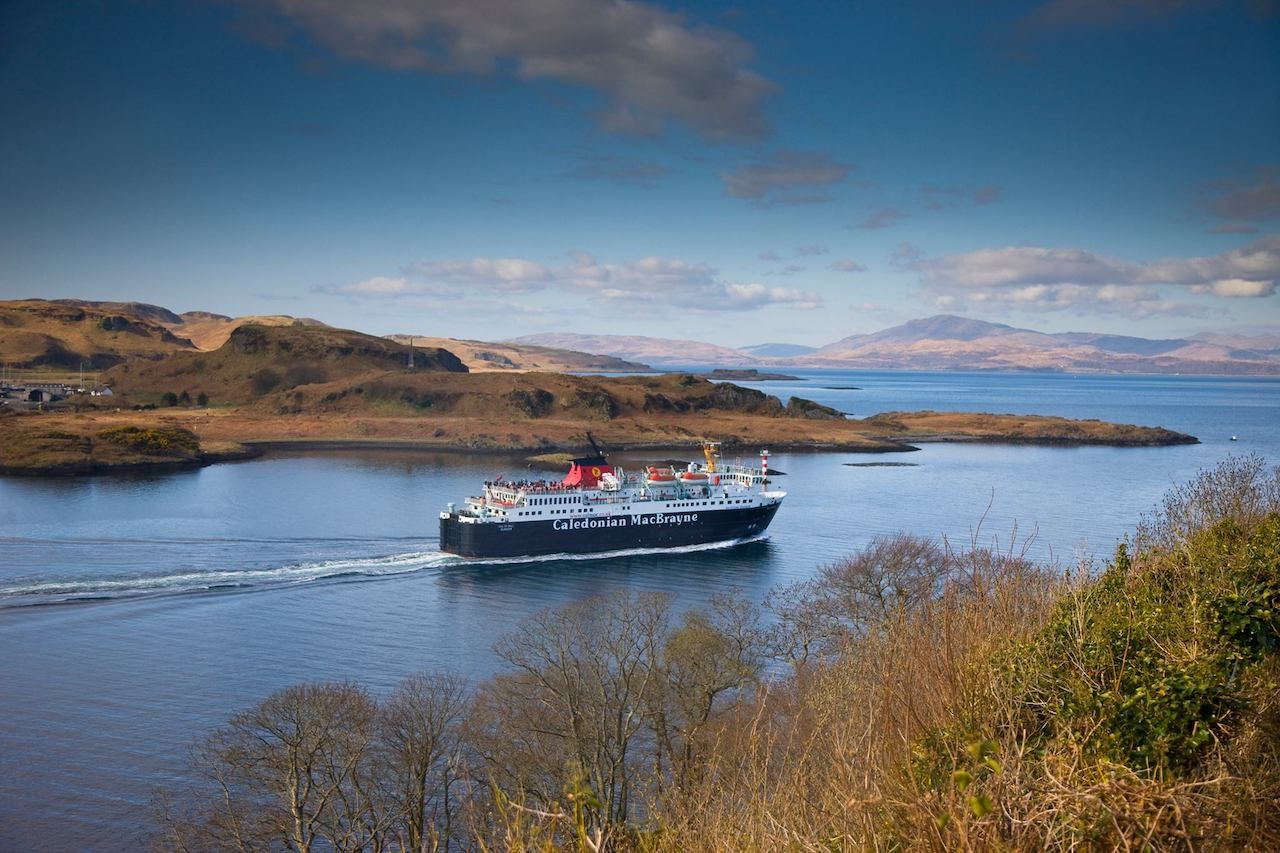 CalMac Ferries in Scotland