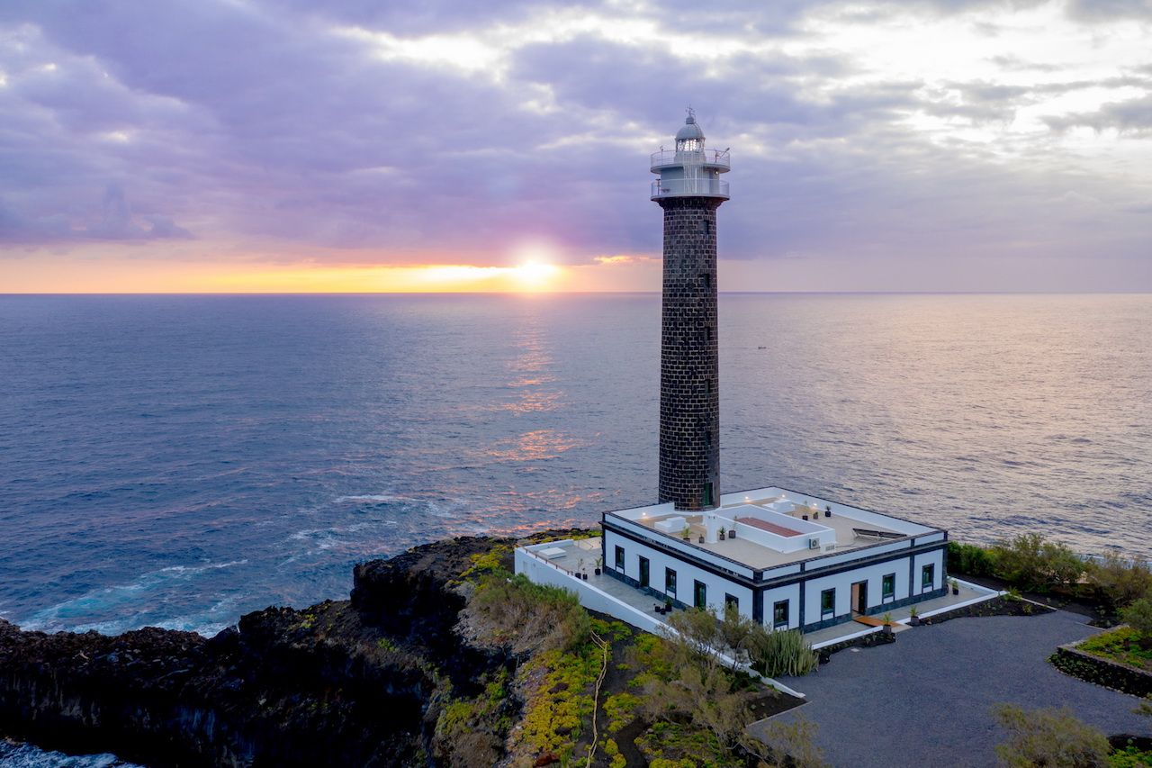 Canary Islands lighthouse hotel
