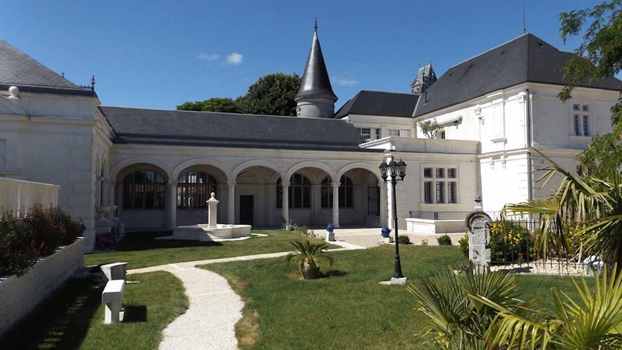 Castle Pellisson in Cognac, France