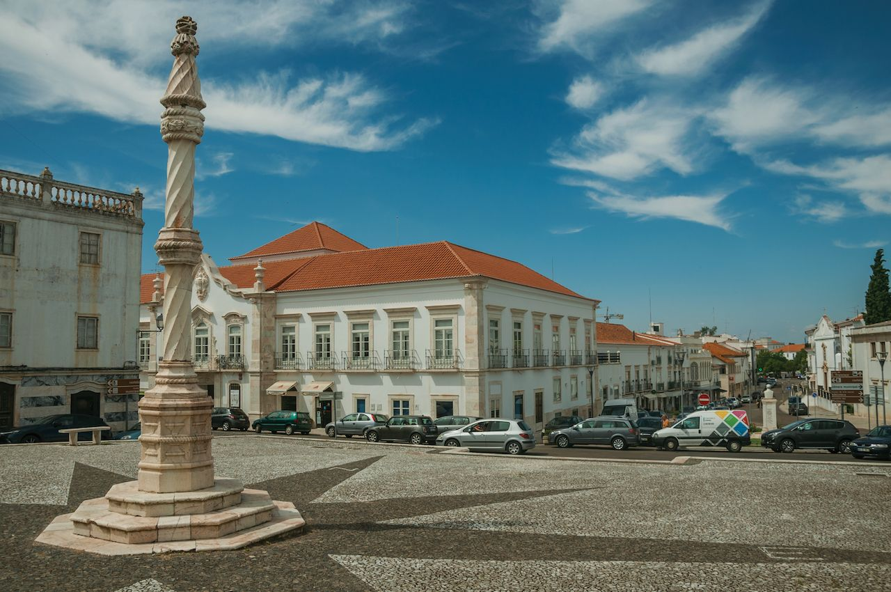 Charming town of Estremoz, Portugal