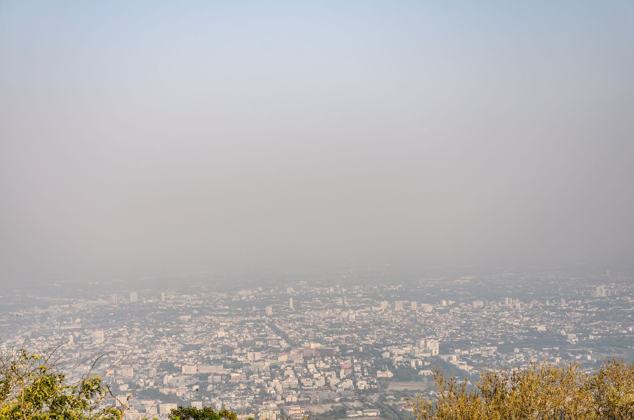 Chiang Mai is covered with toxic smoke