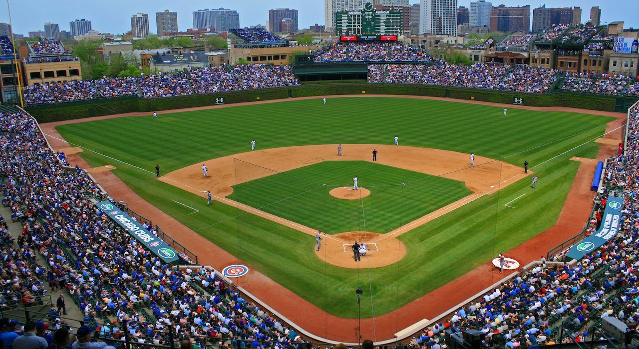 Chicago Cubs game at Wrigley Field