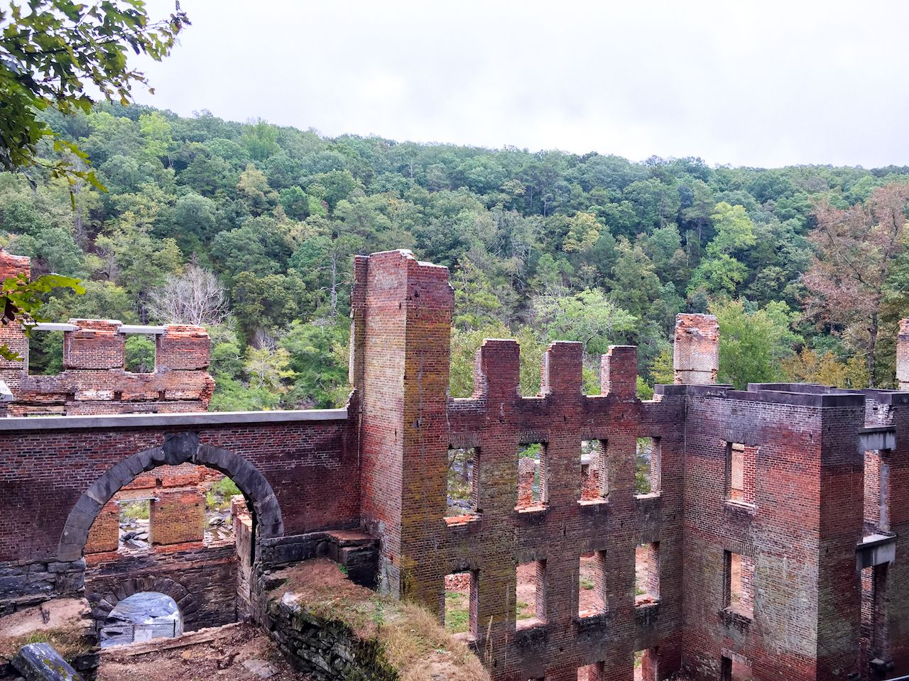 Civil War Ruins at Sweetwater Creek State Park Bear Atlanta, Georgia