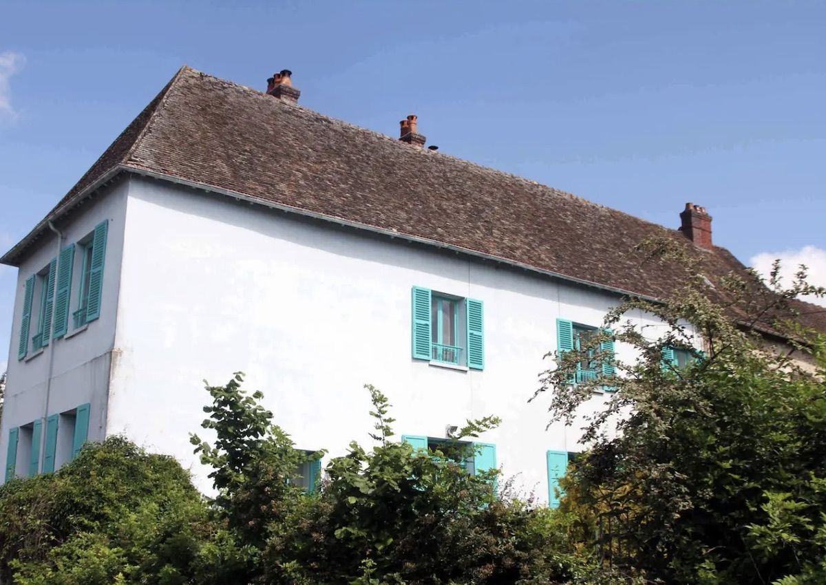 You can rent Claude Monet's Normandy home on Airbnb
