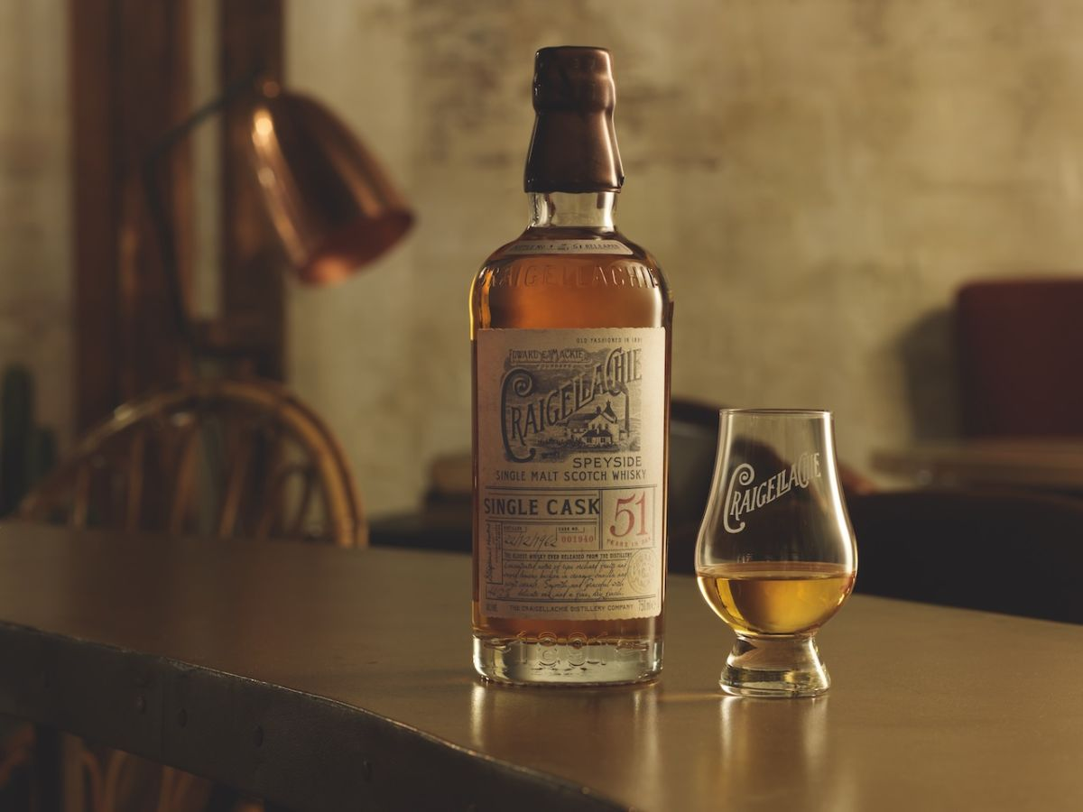 Craigellachie's 51-year-old whisky will be 'uncollectible'