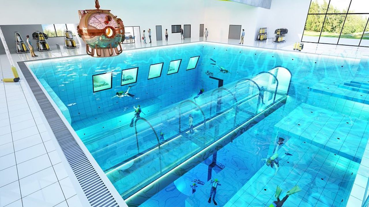 World's deepest pool in Poland