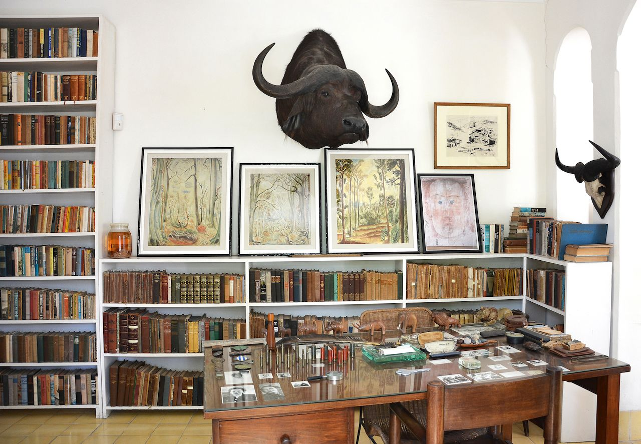Ernest Hemingway's Finca Vigia interior