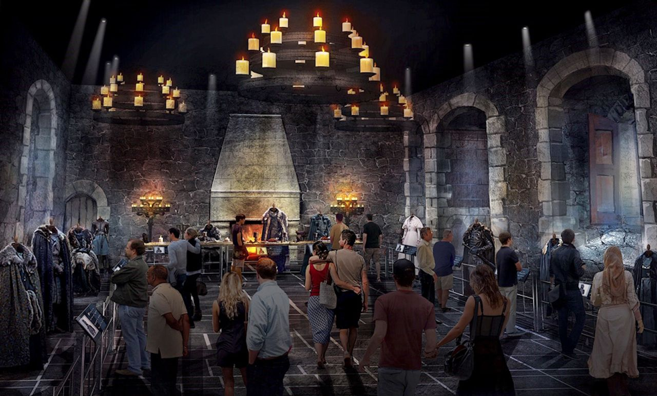 Game of Thrones studio tour in Northern Ireland