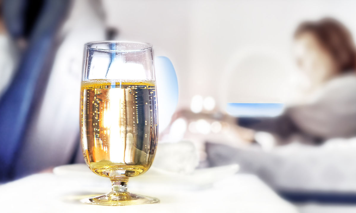 Cabin crew accused of continually stealing Champagne and ice cream from this airline