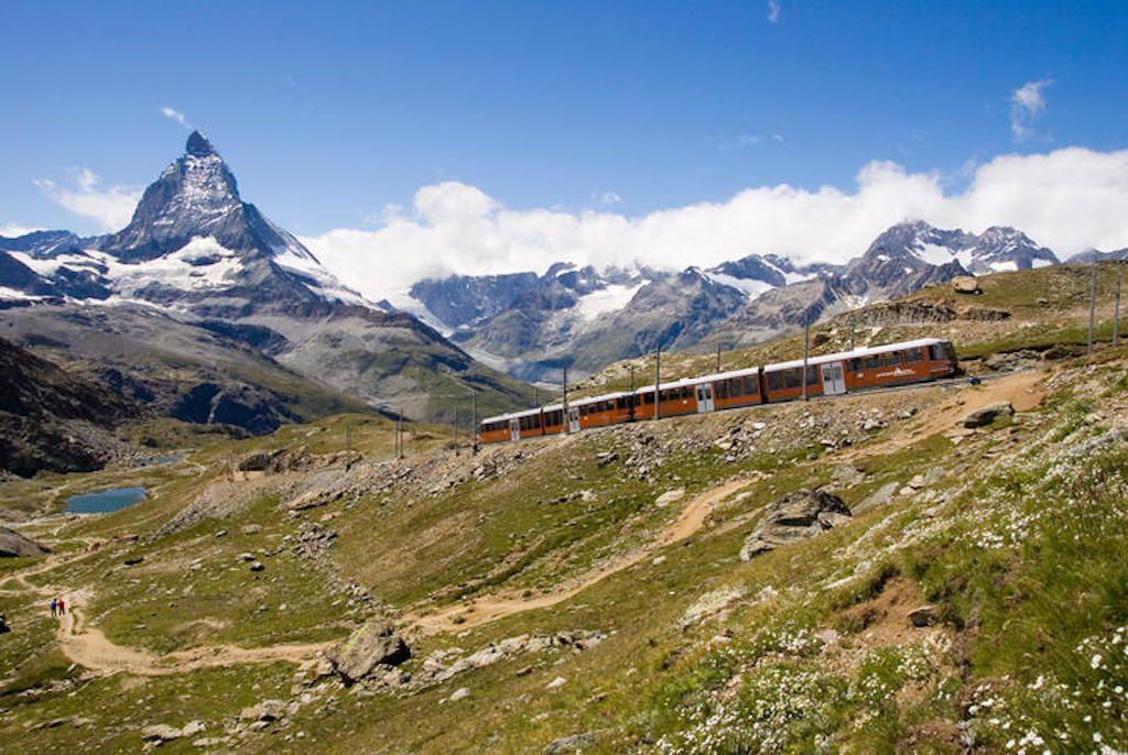 Gornergrat Railway in Summer