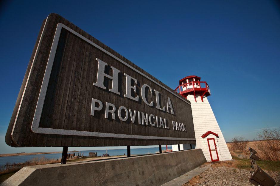 Hecla Provincial Park Manitoba Canada