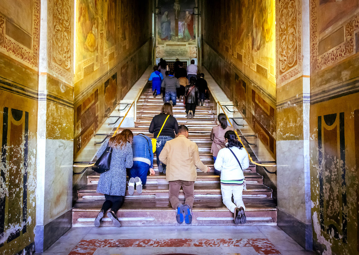 Rome's Holy Stairs will be accessible to pilgrims for the first time in 300 years