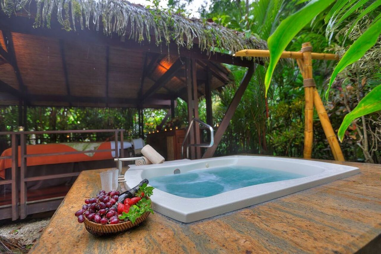 Hot tub at a Costa Rica resort