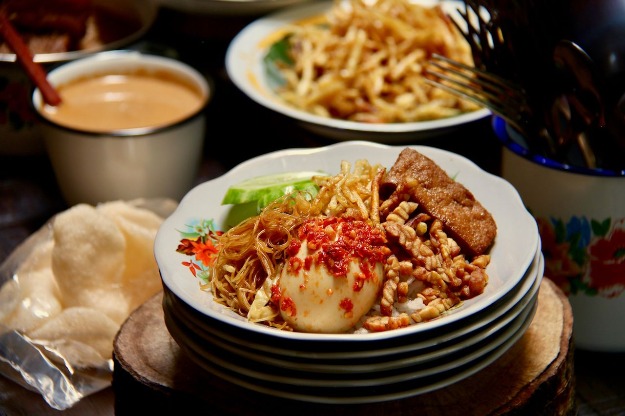 Traditional Betawi Indonesian food
