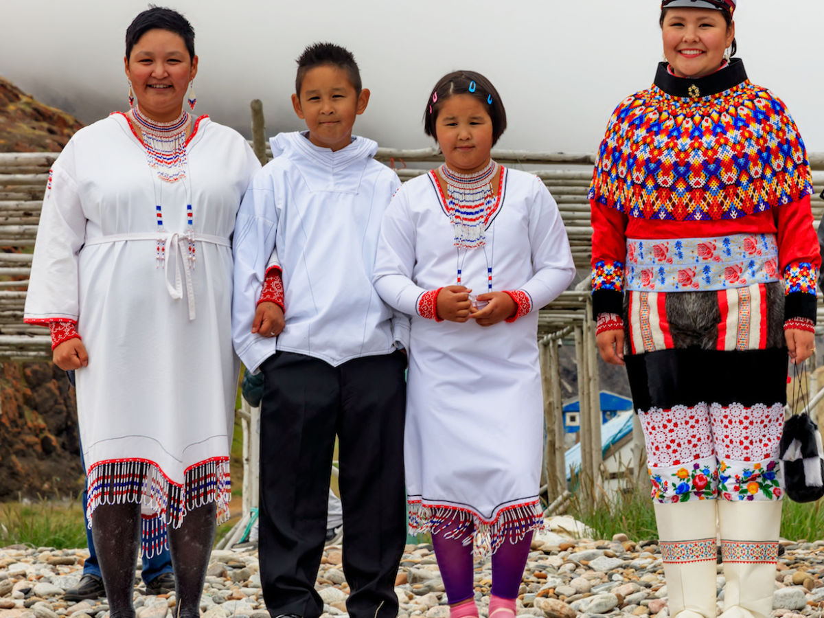 Greenland's national costume is a work of art
