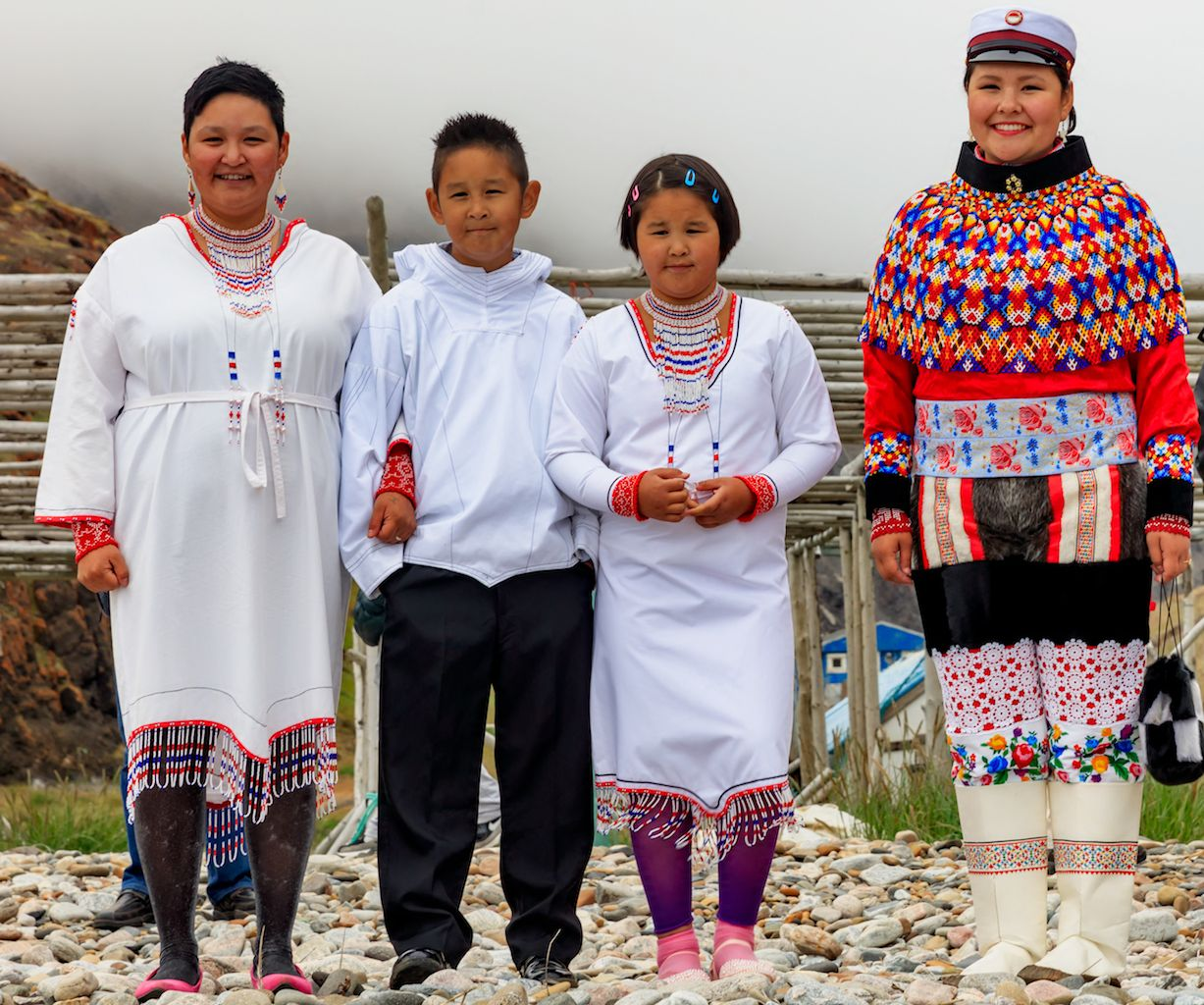 Guide to Greenland s national dress
