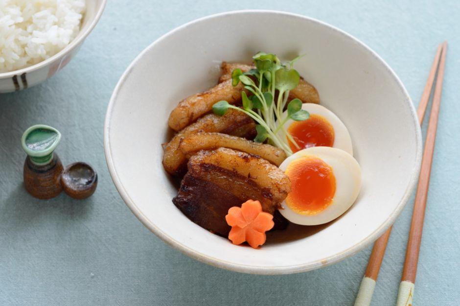 Kakuni japanese food shippoku Miyazaki Japan