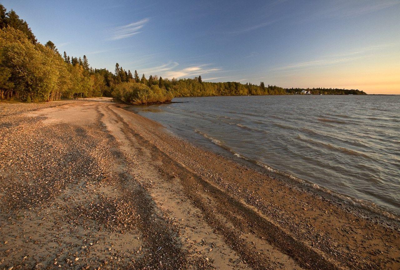 Lake Winnipeg Manitoba Canada