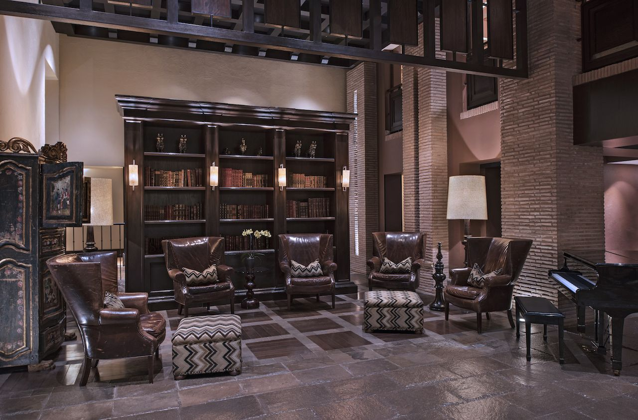 Library at JW Marriott El Convento, Peru
