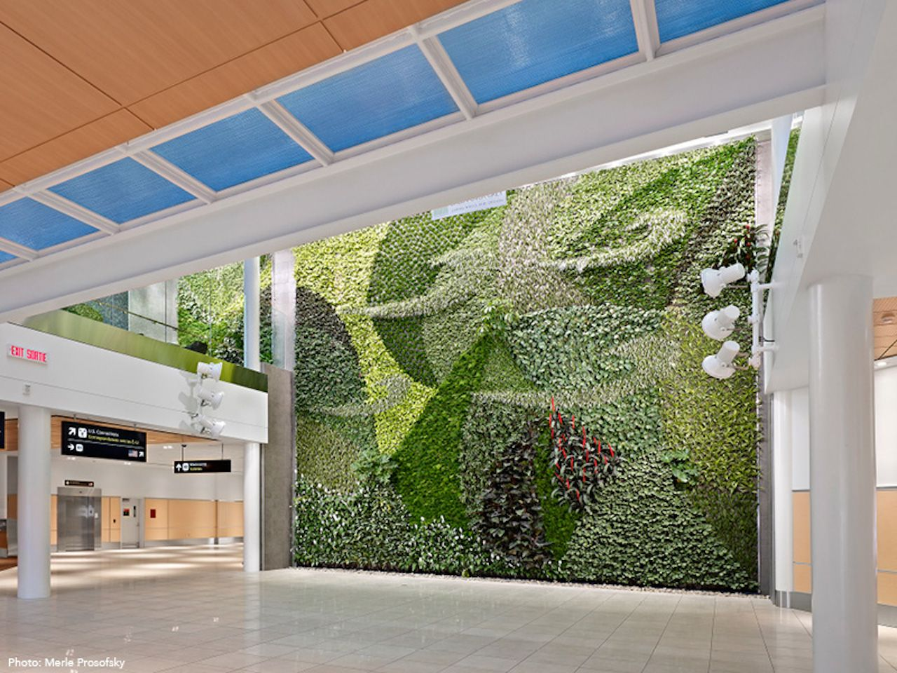 Living wall mural