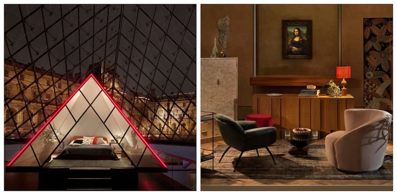 Airbnb contest to spend a night at the Louvre