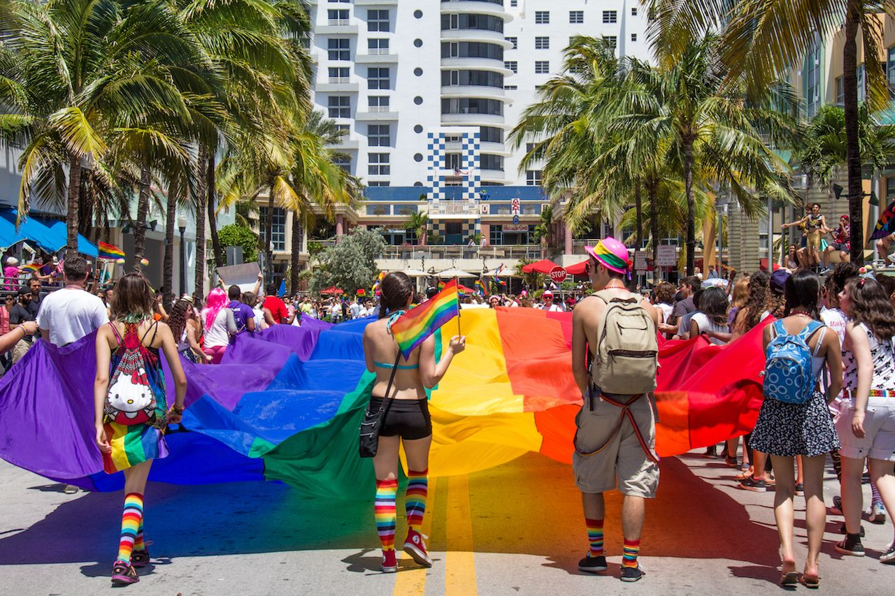 Miami Gay Beach Pride Parade