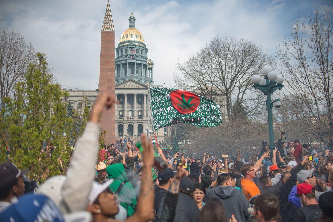 Mile High 420 Festival in Denver, Colorado