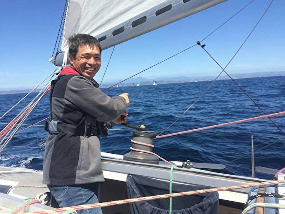 Blind Japanese sailor finishes nonstop crossing of the Pacific