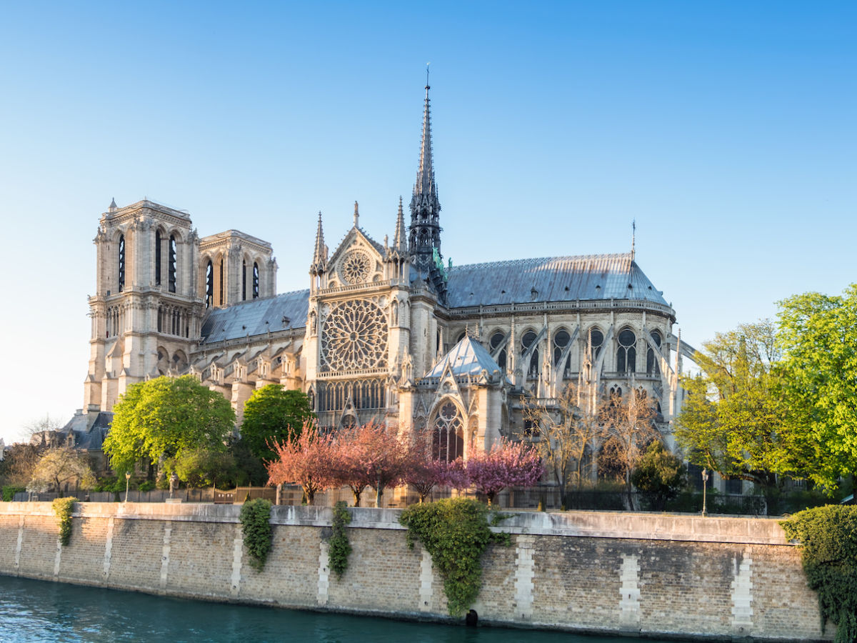France announces competition to redesign Notre Dame's fallen spire