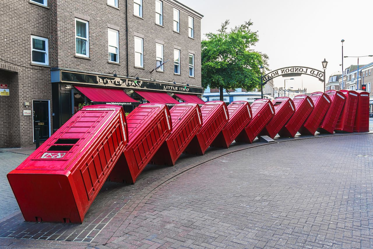 Outdoor sculpture in London