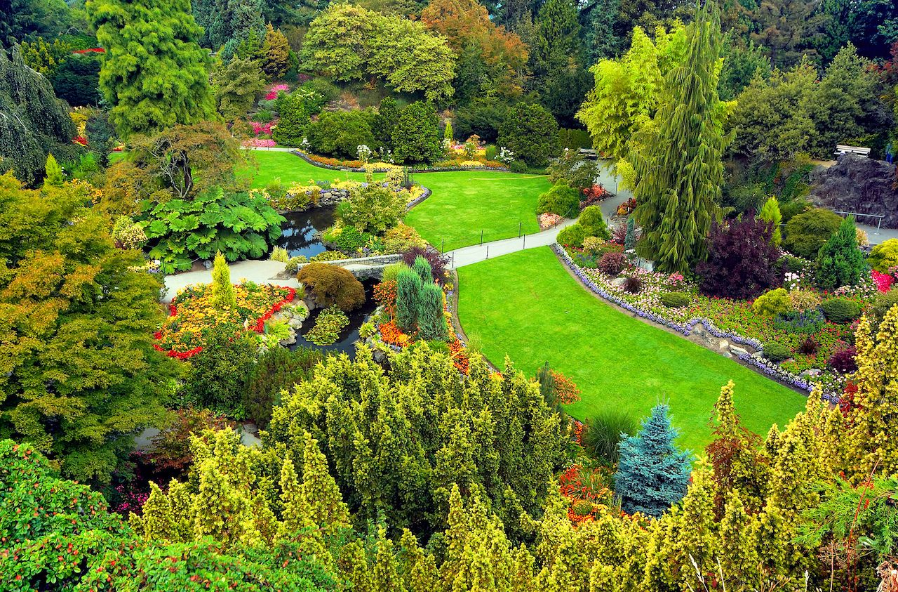 Overview of Vancouver Queen Elizabeth Park