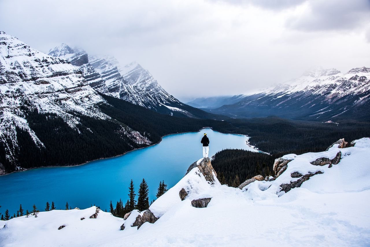 How to plan a winter trip to Banff