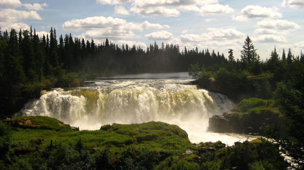 Pisew Falls Manitoba Canada