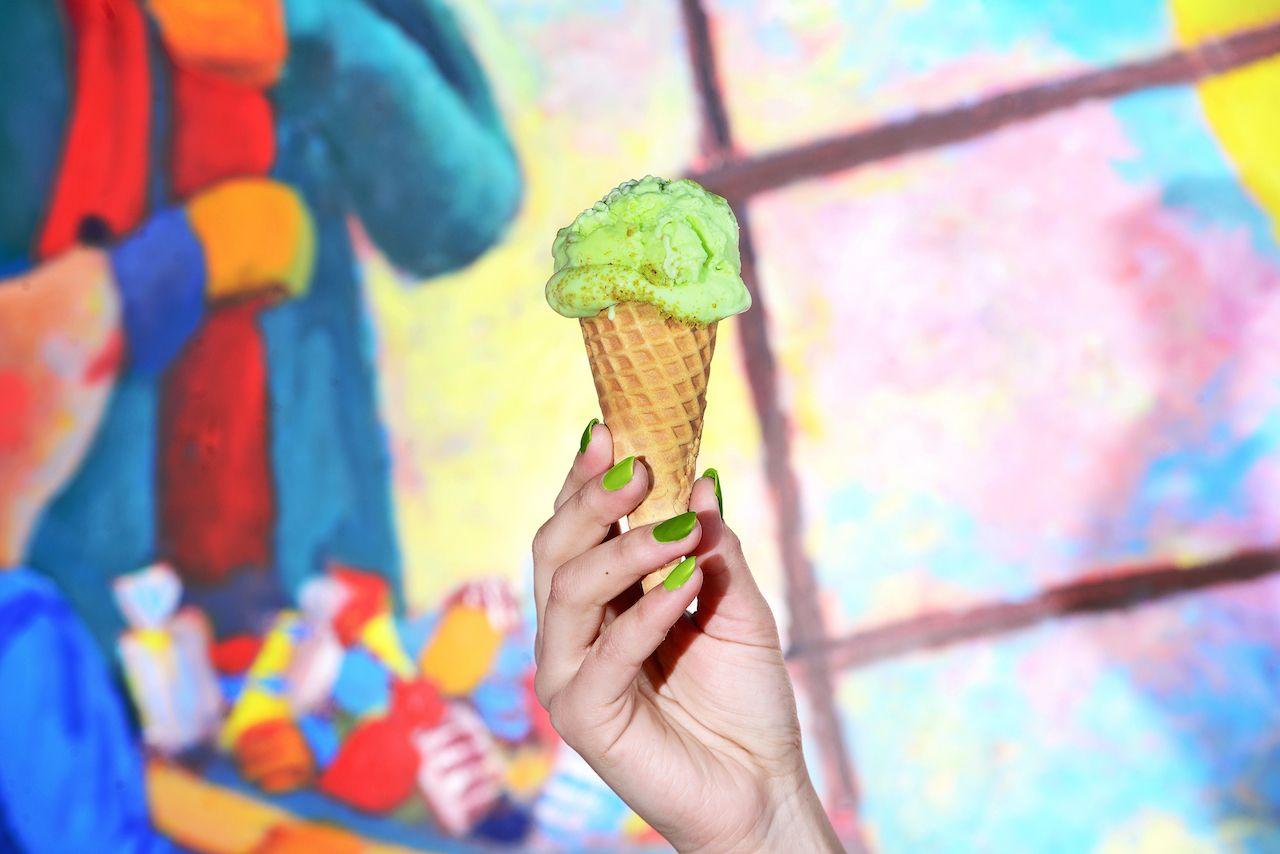 Odd ice cream flavors in Puerto Rico