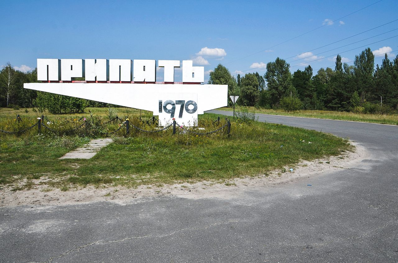 Pripyat, the town where most of the chernobyl workers lived with their families because the explosion