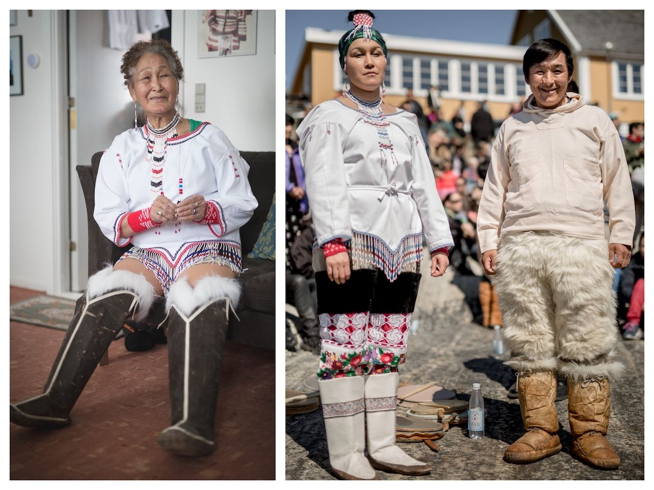 Regionalism in the Greenland national dress