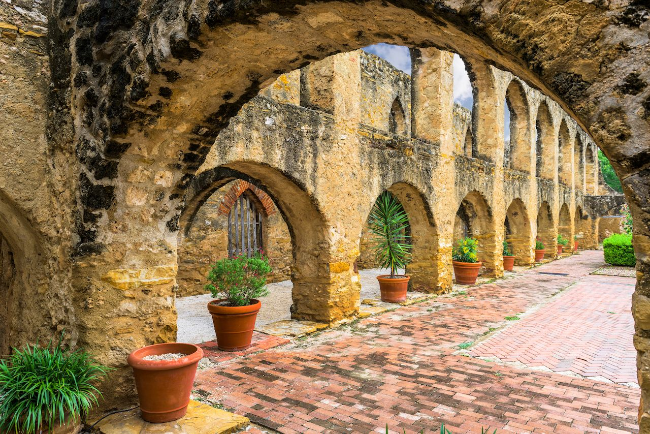 San Jose Mission in San Antonio, Texas