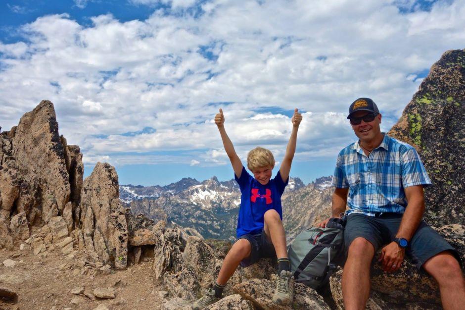 Sawtooth Mountain Guides Idaho kids